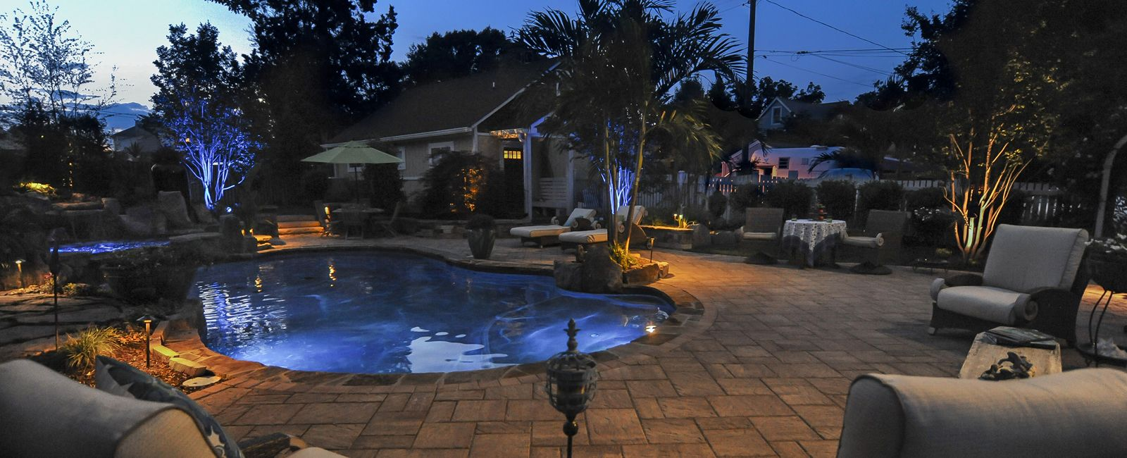 Stewart lawn and landscape the ultimate landscape for Pool design maryland