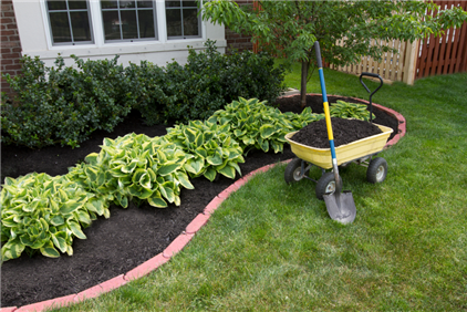 Mulching, Sesonal Cleanups & Spade Edging