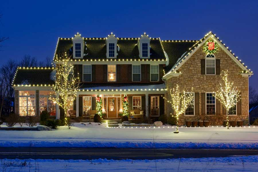 holiday decorating services gallery - Professional Christmas Decorators Cost