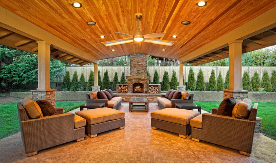 Outdoor Family Rooms