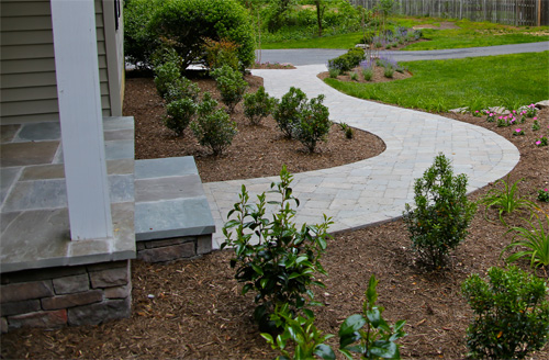 Paver Entrances & Landings